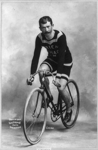 Страницы истории велоспорта: Париж-Рубэ-1902 - Люсьен Лесна (Lucien Lesna)