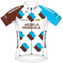 Команды Мирового Тура 2016: AG2R La Mondiale (ALM) - FRA