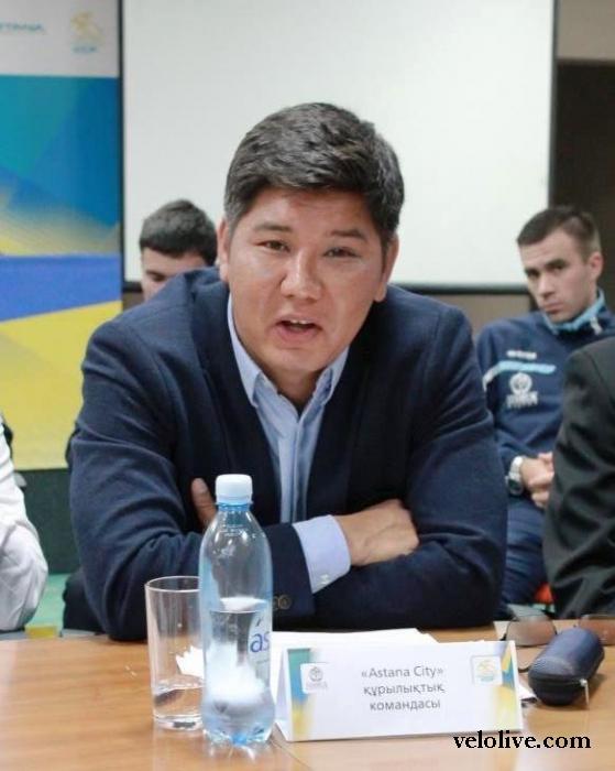 Кайрат Байгудинов о подготовке сборной Казахстана по шоссейному велоспорту к Олимпийским Играм 2016 года
