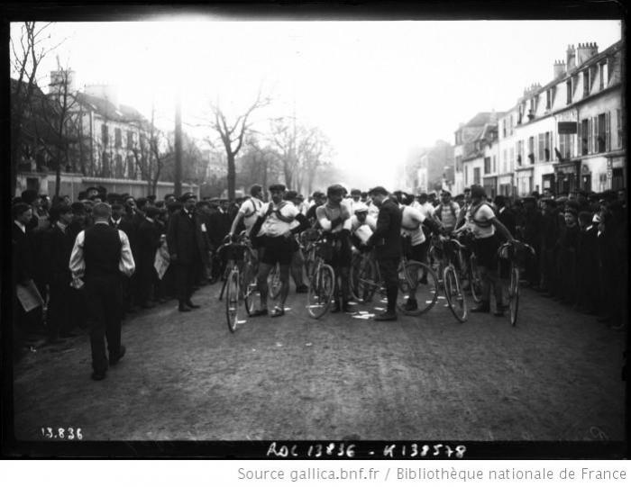 Страницы истории велоспорта: Париж-Рубэ-1909