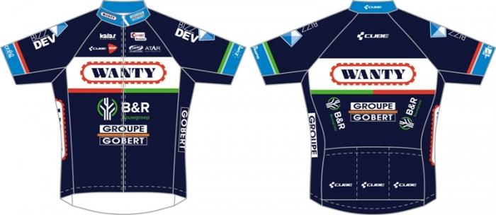 Велоформа команды Wanty-Groupe Gobert на 2016 год от компании KALAS Sportswear