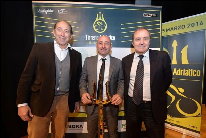 Мауро Веньи: «Новый логотип Тиррено-Адриатико - ещё один знак того, что мы хотим развивать гонку»