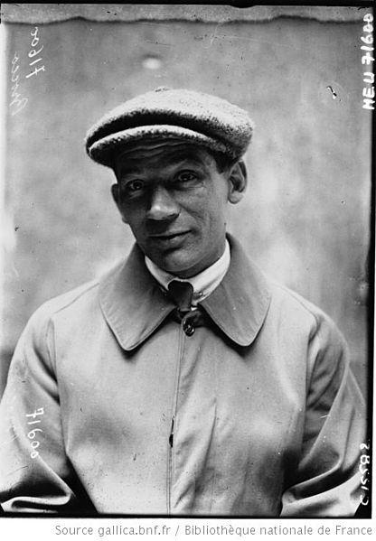 Морис Брокко (Maurice Brocco) - участник Париж-Рубэ (Paris–Roubaix)-1919