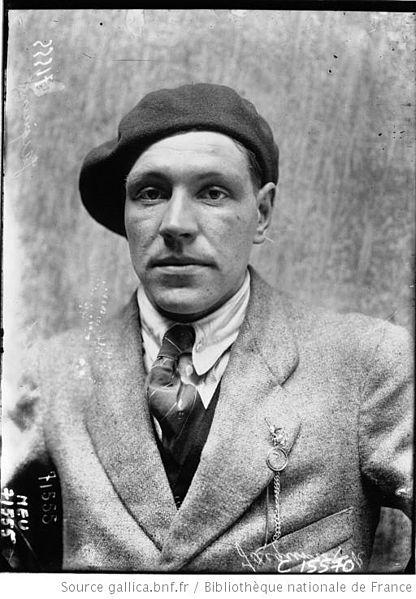 Робер Жакино (Robert Jacquinot) - участник Париж-Рубэ (Paris–Roubaix)-1919