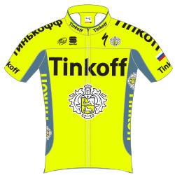 Команды Мирового Тура 2016: Team Tinkoff (TNK) - RUS