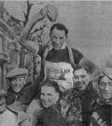 Страницы истории велоспорта: Париж-Рубэ-1937