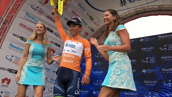 Калеб Юэн – победитель 1-го этапа Тура Даун Андер-2016