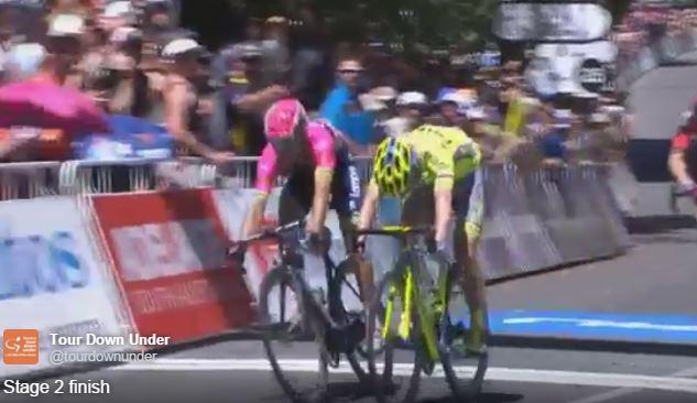Джей МакКарти (Tinkoff) – победитель 2-го этапа Тура Даун Андер-2016