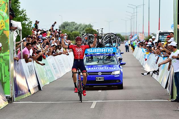 Петер Конинг: победа из одиночного отрыва на 3-м этапе Тура Сан-Луиса-2016
