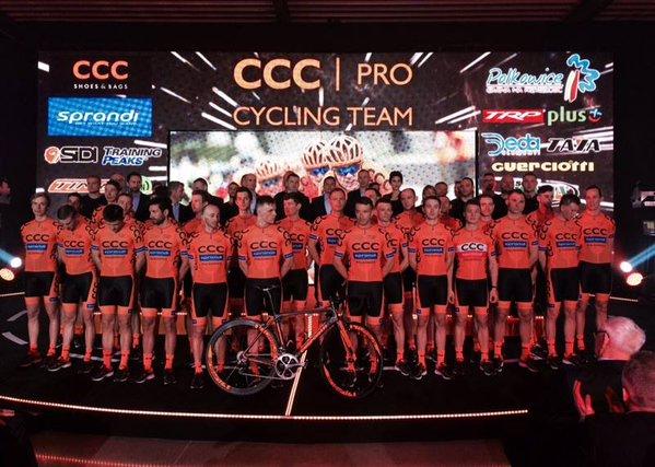 Команда CCC Sprandi Polkowice готова к сезону 2016 года