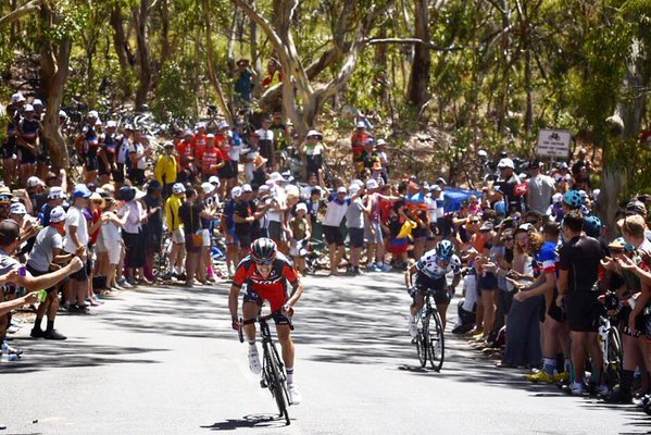 Ричи Порт (BMC) - победитель 5-го этапа Тура Даун Андер-2016