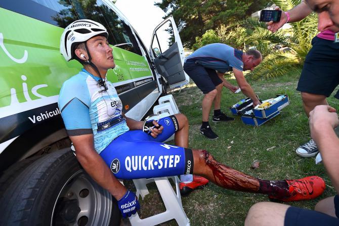 Завал на 5-м этапе Тура Сан-Луиса-2016: травмы и сходы гонщиков