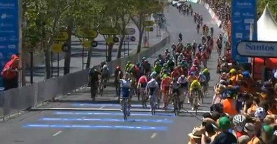 Калеб Юэн - победитель 6-го этапа Тура Даун Андер-2016