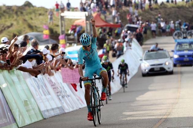 Мигель Лопес (Astana) - победитель 6 этапа Тура Сан-Луиса-2016