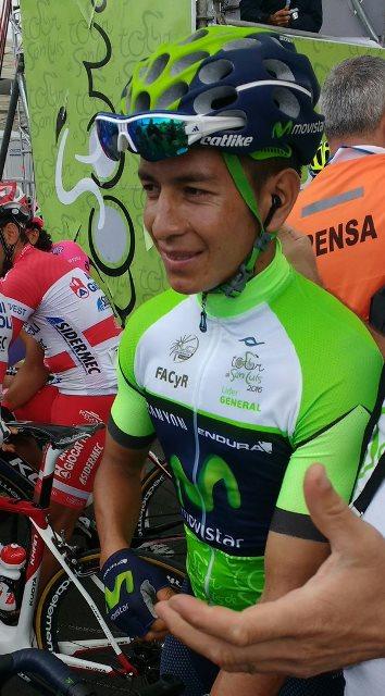 Дайер Кинтана (Movistar) - победитель Тура Сан-Луиса-2016