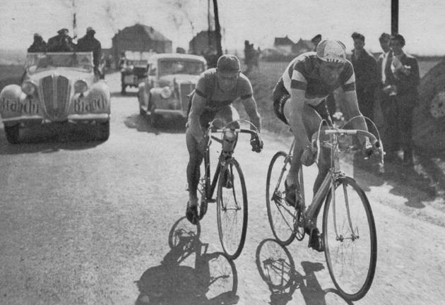 Страницы истории велоспорта: Париж-Рубэ-1950