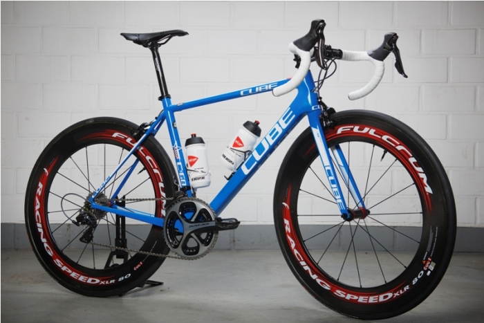 Велосипед CUBE Litening C:68 команды Wanty-Groupe Gobert
