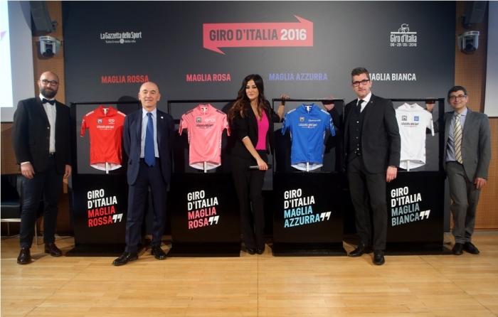 Презентация маек Джиро д'Италия-2016