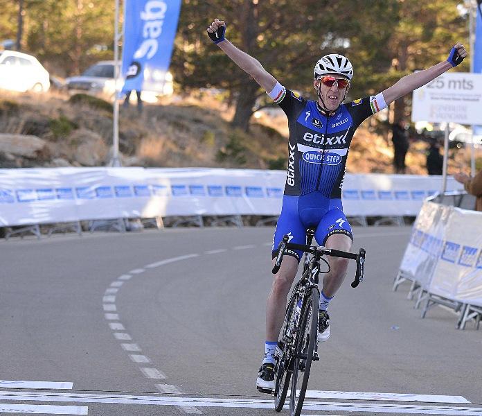 Дэн Мартин - победитель 2-го этапа Вуэльты Валенсии-2016