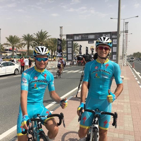 Артем Захаров и Диас Омирзаков подписали контракт с командой Astana Pro Team