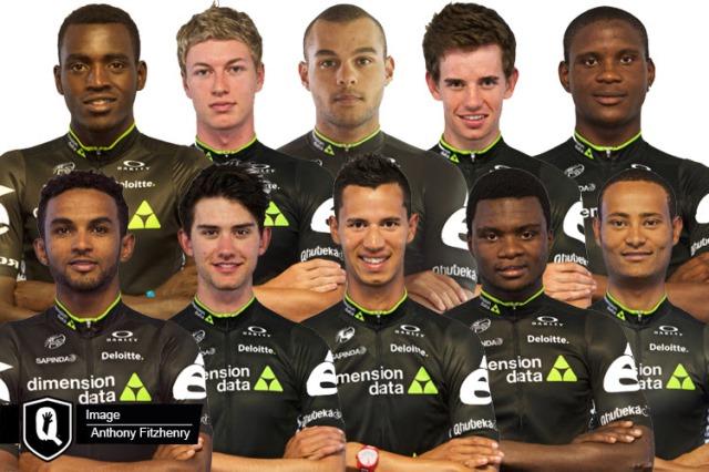 Команда Dimension Data развивает африканский велоспорт
