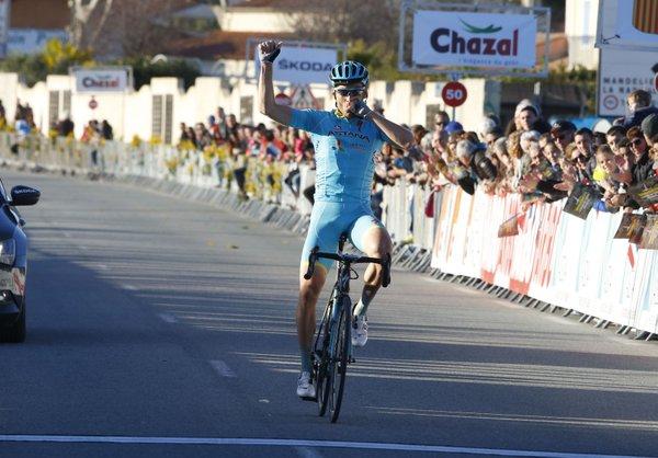 Андрей Гривко (Astana) - победитель 3-го этапа Тура Средиземноморья-2016