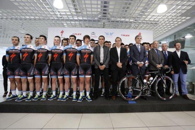 Альберто Контадор о своем проекте велокоманд и планах на 2017 год