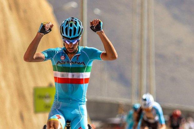 Винченцо Нибали (Astana) - победитель 4-го этапа Тура Омана-2016