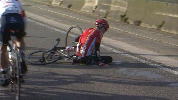 Стиг Брукс был сбит мотоциклистом во время гонки Кюрне-Брюссель-Кюрне-2016