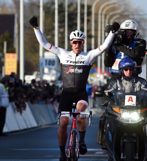 Яспер Стейвен - победитель Kuurne-Brussel-Kuurne-2016