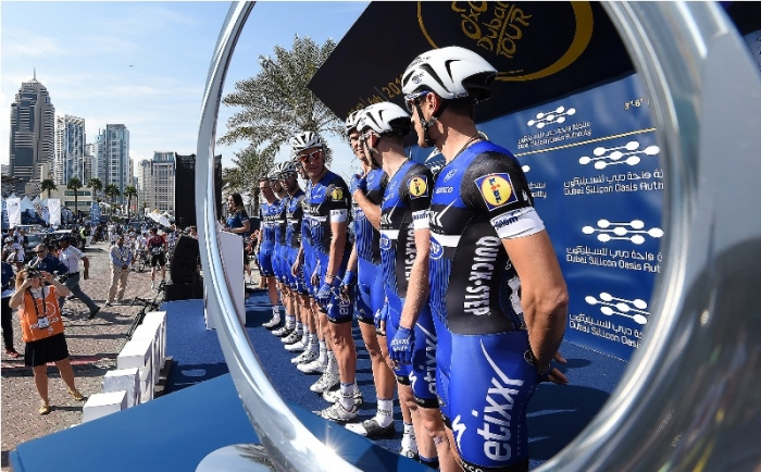 Марсель Киттель - победитель 1-го этапа Тура Дубая-2016