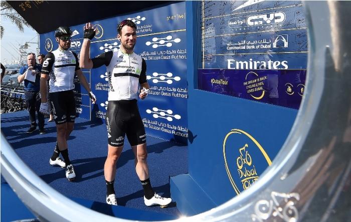 Марк Кэвендиш уступил Марселю Киттелю на 1-м этапе Тура Дубая-2016
