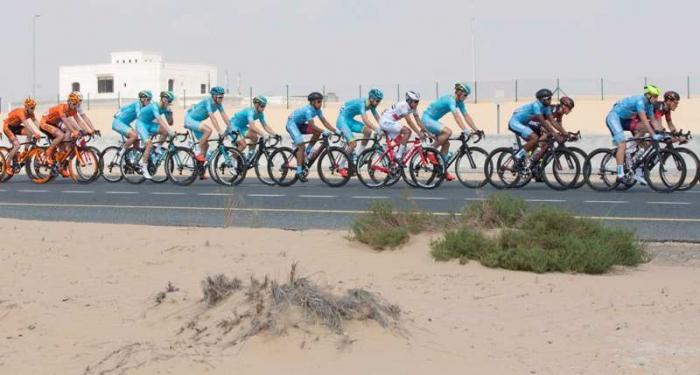 Джакомо Ниццоло – сильнейший из итальянских спринтеров на 1-м этапе Тура Дубая-2016