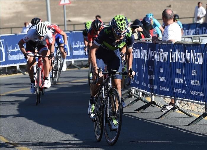 Хуан-Хосе Лобато (Movistar) – победитель 3-го этапа Тура Дубая-2016