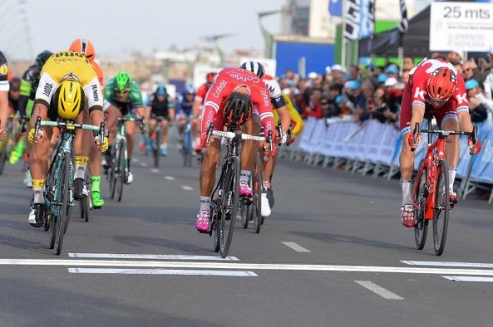 Александр Порсев финиширует 3-м на третьем этапе Вуэльты Валенсии-2016