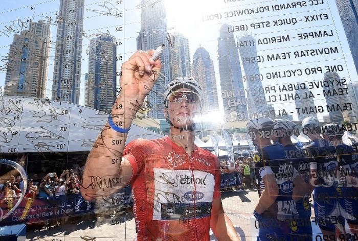 Марсель Киттель (Etixx-Quick Step) - победитель Тура Дубая-2016