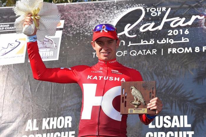 Александр Кристофф одерживает первую победу в сезоне