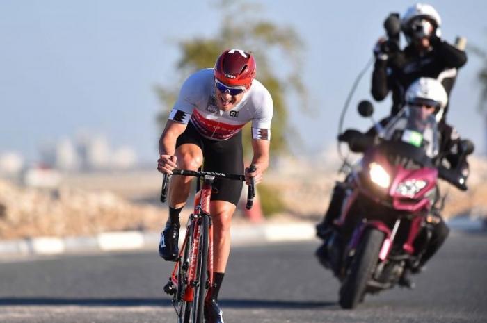 Ван Эмден, Груздев, Политт и Кристофф о разделке с ветром на 3-м этапе Тура Катара-2016