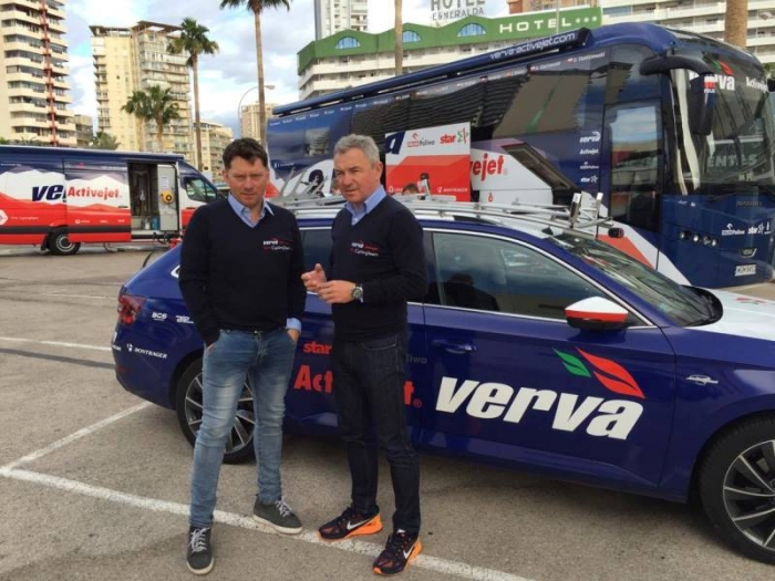 Спортивный директор VERVA Activejet Дариуш Банашек: «Моя мечта - проехать с командой Тур де Франс»