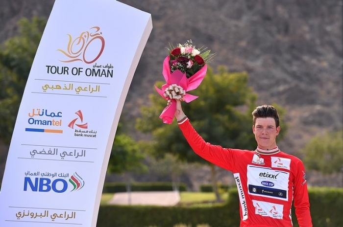 Боб Юнгельс - победитель 1-го этапа Тура Омана-2016