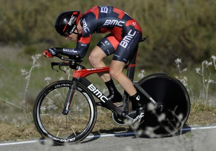 Тиджей Ван Гардерен побеждает в разделке на 4-м этапе Вуэльты Андалусии-2016