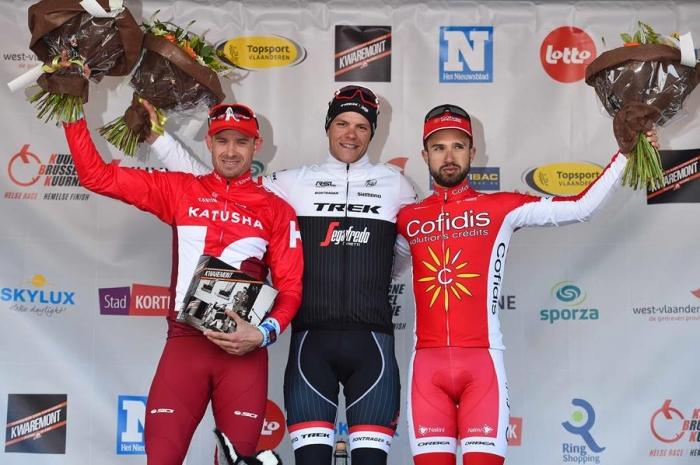 Александр Кристофф - второй призер гонки Kuurne - Brussels - Kuurne 2016