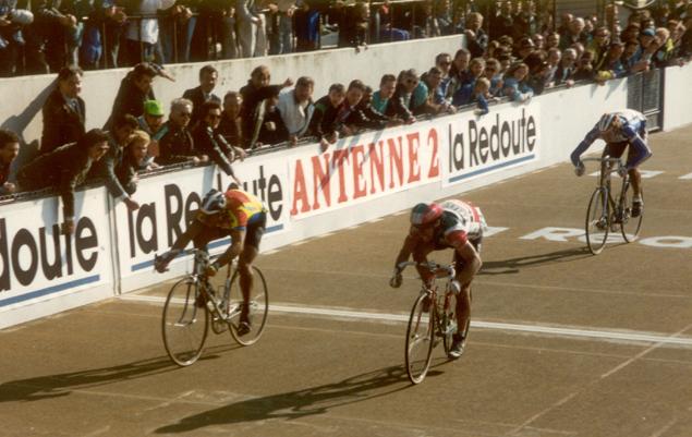 Страницы истории велоспорта: Париж-Рубэ-1990