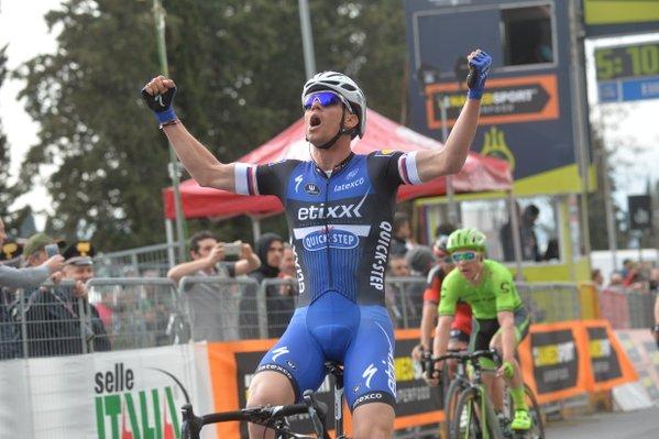 Зденек Штыбар (Etixx-Quick Step) – победитель 2 этапа Тиррено-Адриатико-2016