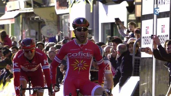 Насэр Буанни (Cofidis) – победитель 4 этапа Париж-Ниццы-2016