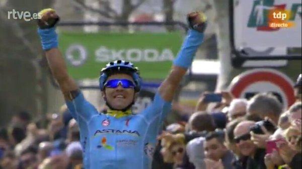 Алексей Луценко (Astana) - победитель 5 этапа Париж-Ницца-2016
