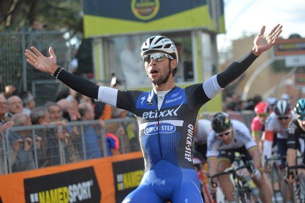 Фернандо Гавирия (Etixx-Quick Step) – победитель 3-го этапа Тиррено-Адриатико-2016
