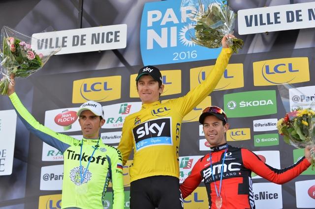 Ричи Порт (BMC) - бронзовый призёр Париж-Ниццы-2016