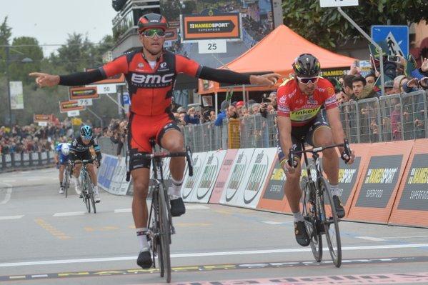 Грег Ван Авермат (BMC) – победитель 6 этапа Тиррено-Адриатико-2016