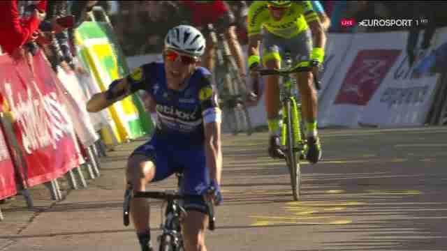 Дэн Мартин (Etixx-Quick Step) - победитель 3 этапа Вуэльты Каталонии-2016
